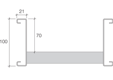 Cable Ladder Technical Details - 100mm Deep Range