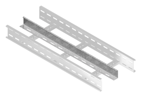 Straight Divider - 3m Long Cable Ladder